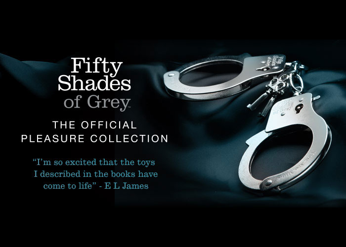 Official fifty shades of grey merchandise for Fifthy shade of grey